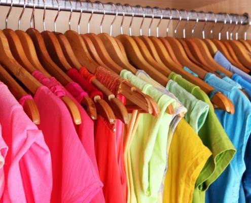 ropa ordenada